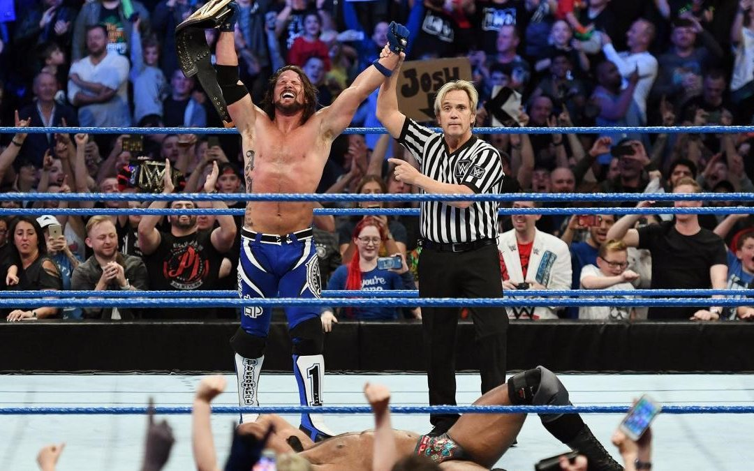 Latta's Lariat #32: AJ Styles Has Been Saving WWE All Year & Thoughts On The Maharaja