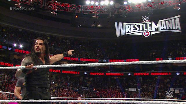 Royal Rumble: The Roman Reigns Show
