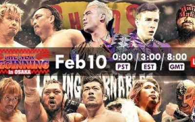 Keepin' It Strong Style – New Beginning In Osaka Review