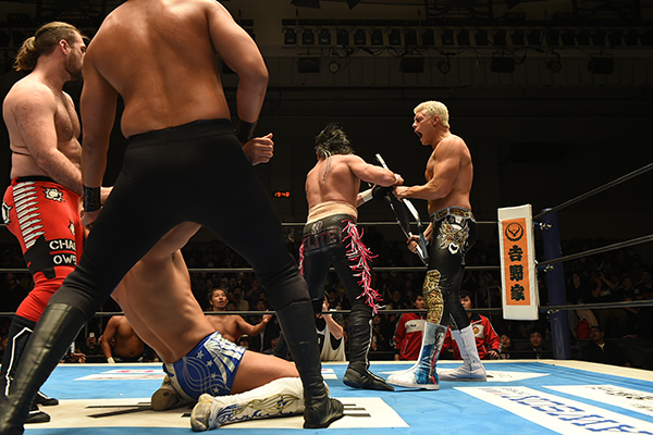 NJPW New Year's Dash on AXS TV Review
