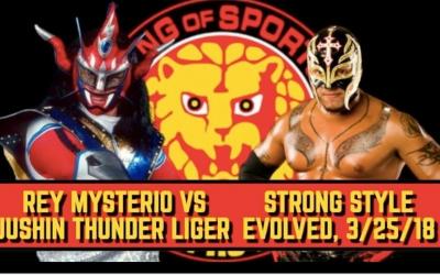Latta's Lariato #5: Jushin Thunder Liger vs Rey Mysterio & Strong Style Evolved