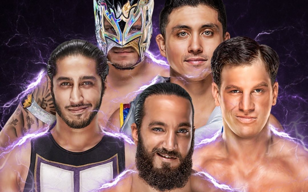 205 Clive's Purple Brand Review (4/24/18): Number One Contender's Gauntlet Match