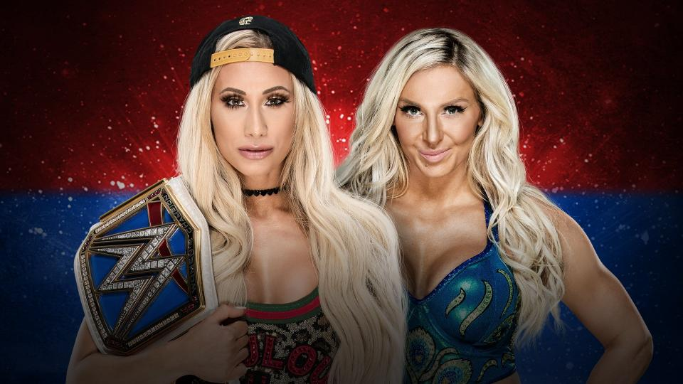 WWE Backlash 2018 - Carmella vs Flair