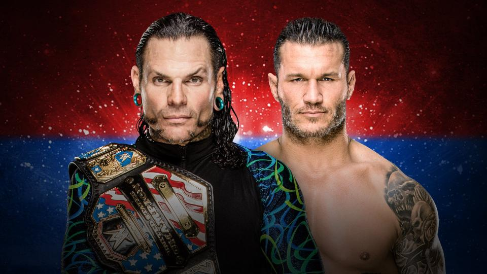 WWE Backlash 2018 - Hardy vs Orton