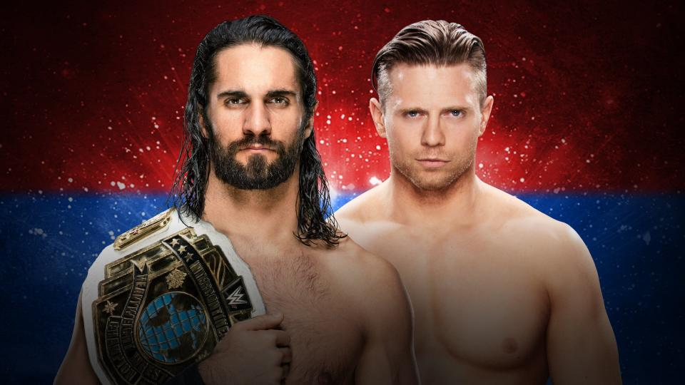 WWE Backlash 2018 - Rollins vs Miz