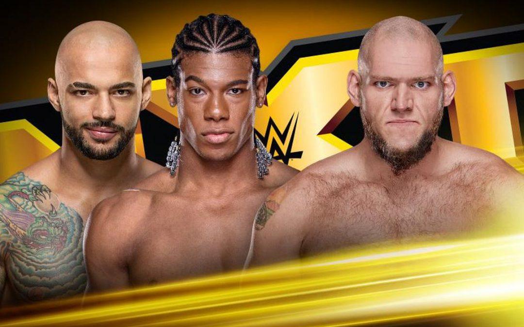 WWE NXT Review (5/16): Lars Sullivan vs Ricochet & The Velveteen Dream