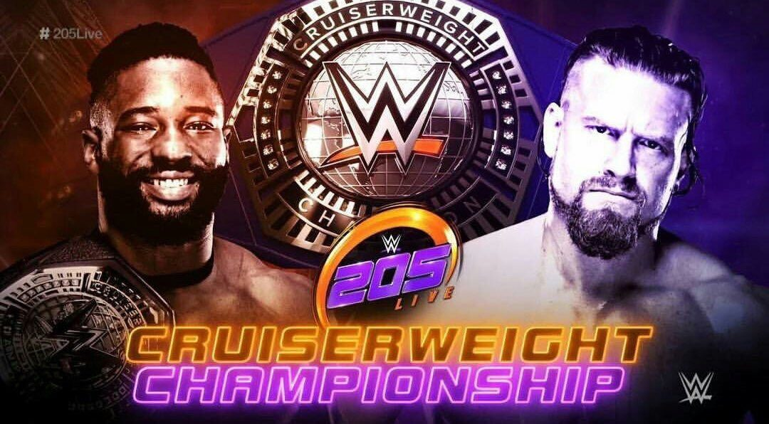205 Clive's Purple Brand Review: 205 Results 05/29/18 – Cedric Alexander vs Buddy Murphy for the Cruiserweight Championship