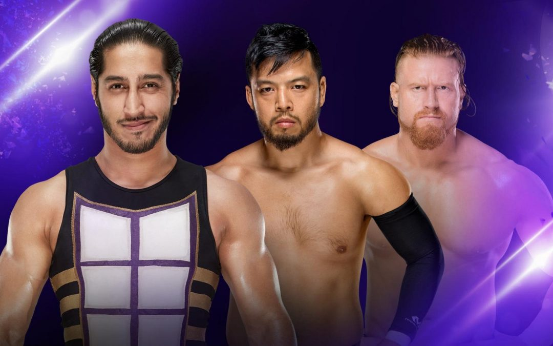 205 Clive's Purple Brand Review: 205 Live Results (06/19/18) – Mustafa Ali vs Buddy Murphy vs Hideo Itami