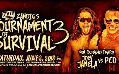 Grown Men Watch This S***? Ep 4 – CM Punk fallout, the crazy world of 2018 Lucha Libre, a live report from The Crash from TJ and a review of GCW Tournament of Survival 2018 with Joey Janela vs PCO!