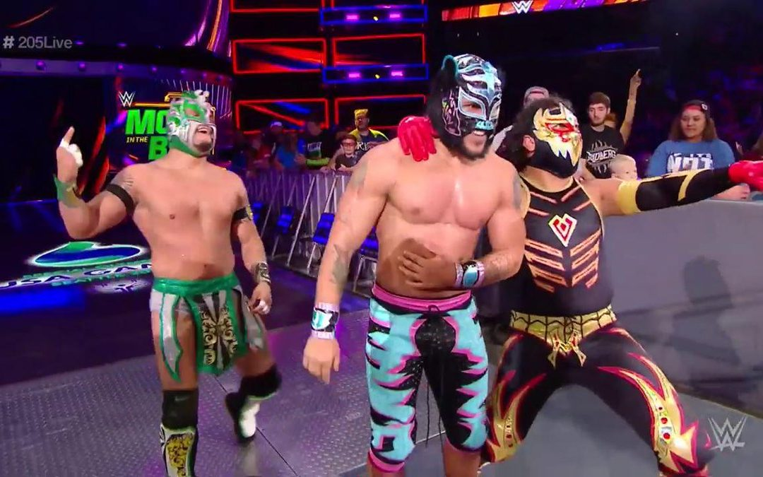 205 Clive's Purple Brand Review – 205 Live Results (06/12/18): Brian Kendrick, Jack Gallagher, and Drew Gulak vs Lucha House Party