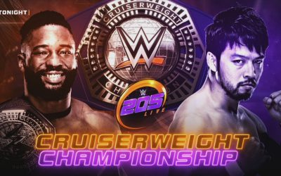 205 Clive's Purple Brand Review:  205 Live Results (07/10/18) – Cedric Alexander vs Hideo Itami: Cruiserweight Championship Match)