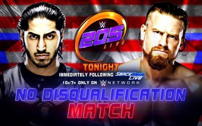205 Clive's Purple Brand Review: 205 Live Results (07/03/18) – Mustafa Ali vs Buddy Murphy (No Disqualification Match)