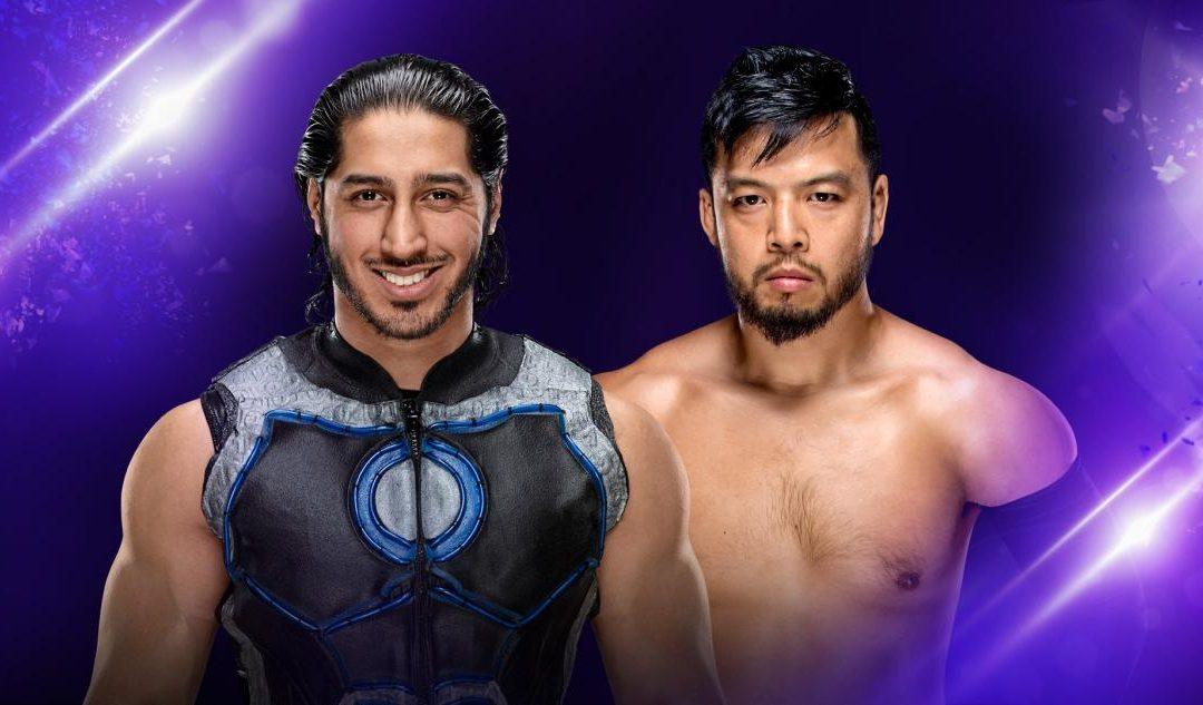 205 Clive's Purple Brand Review:  205 Live Results (08/07/18) – Mustafa Ali vs Hideo Itami