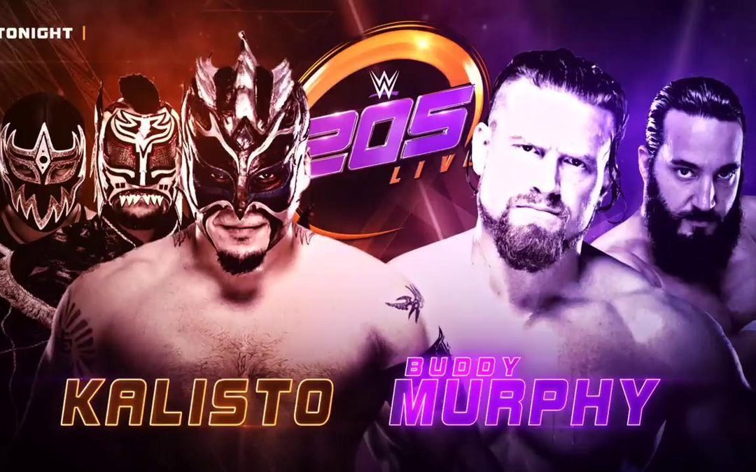 205 Live Results (08/28/18) – Buddy Murphy vs Kalisto