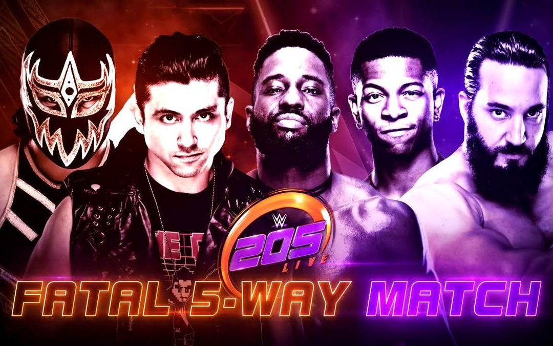 205 Live Review (10/17/18) – Fatal 5 Way: Future Title Opportunity