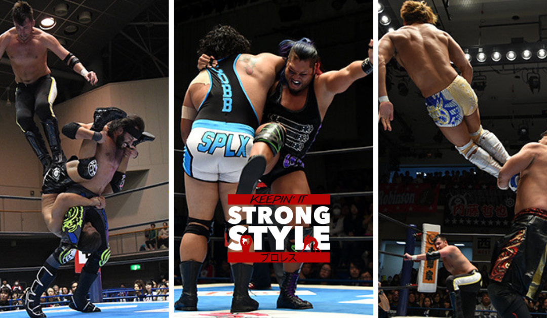 Keepin' It Strong Style – EP 51 – World Tag League Nights 1 and 2