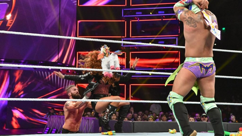 Lucha House Party vs TJP & Mike Kanellis
