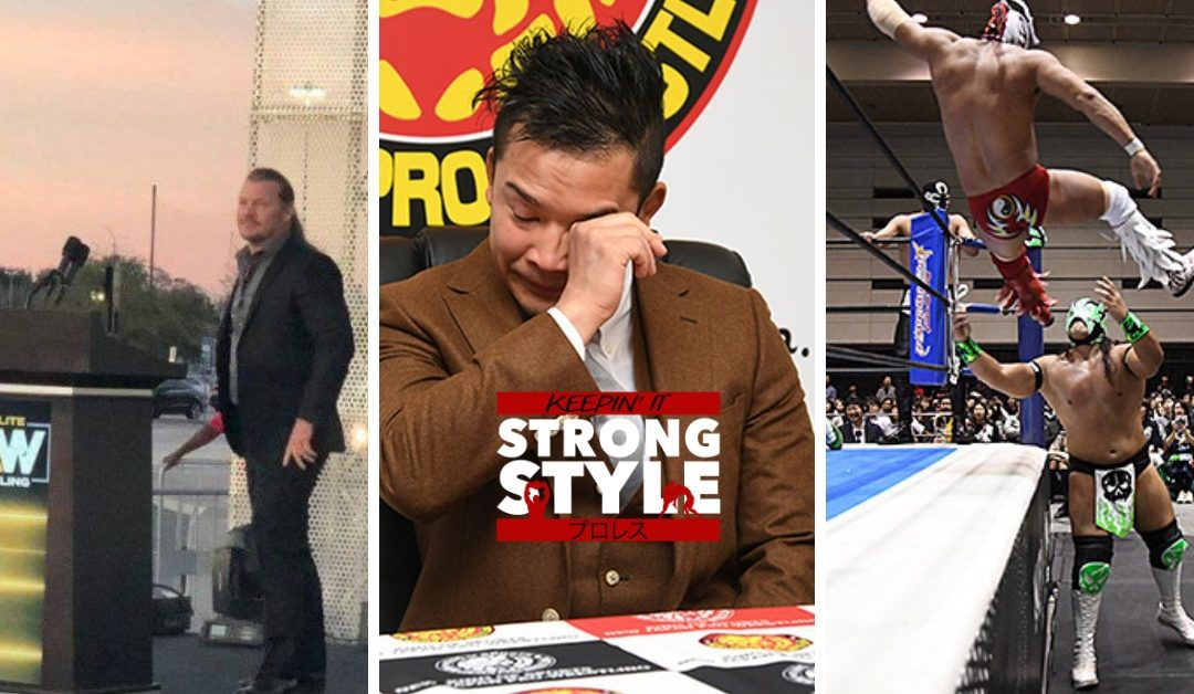 Keepin' It Strong Style – EP 59 – Fantastica Mania, Mailbag, AEW, and more!