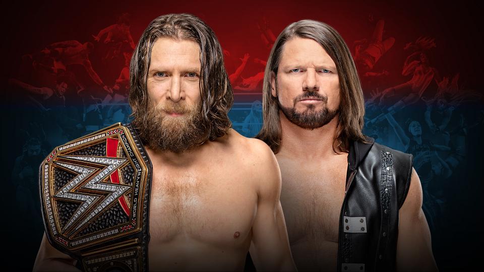 Daniel Bryan (c) vs. AJ Styles