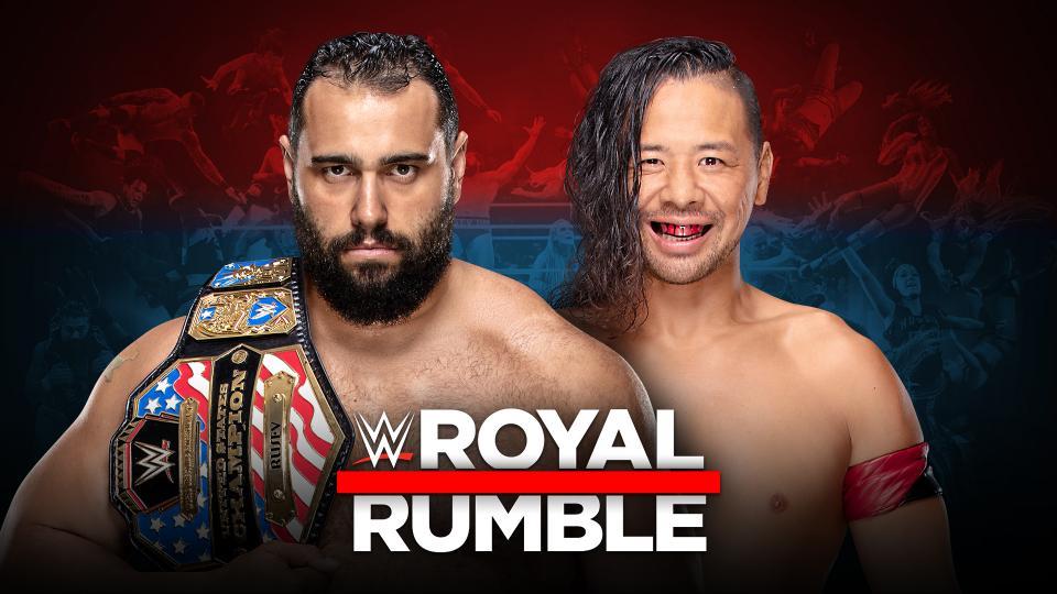 Rusev (c) vs. Shinsuke Nakamura