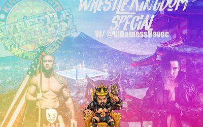 Omega Luke Podcast – Killer Kross to NJPW? Wrestle Kingdom Special w/ Courtney AKA Villainess Havoc