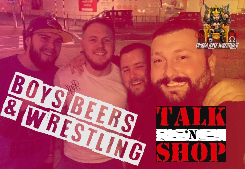"""Omega Luke & Friends Talk'n Shop – Beers, Questions & wrestling """"Would you Rather"""""""