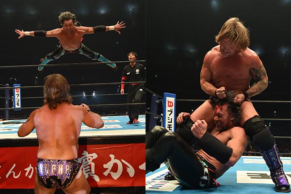 Kenny Omega vs. Chris Jericho (1/4 - NJPW)