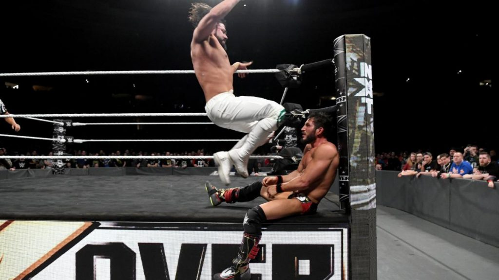 """Andrade """"Cien"""" Almas vs. Johnny Gargano (1/25 - NXT)"""