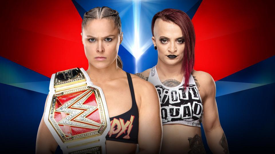 Ronda Rousey (c) vs. Ruby Riott
