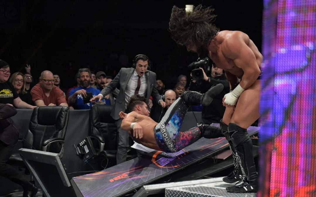 205 Clive's Purple Brand Review: (02/12/19) – Noam Dar vs Tony Nese: No DQ Match.