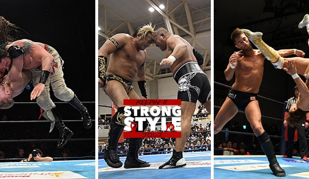 Keepin It Strong Style – EP 68 – New Japan Cup Round 2 Review