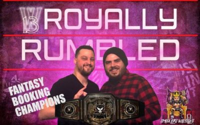 Omega Luke Podcast – Fantasy Booking League Review with Josh & Stu Podcast