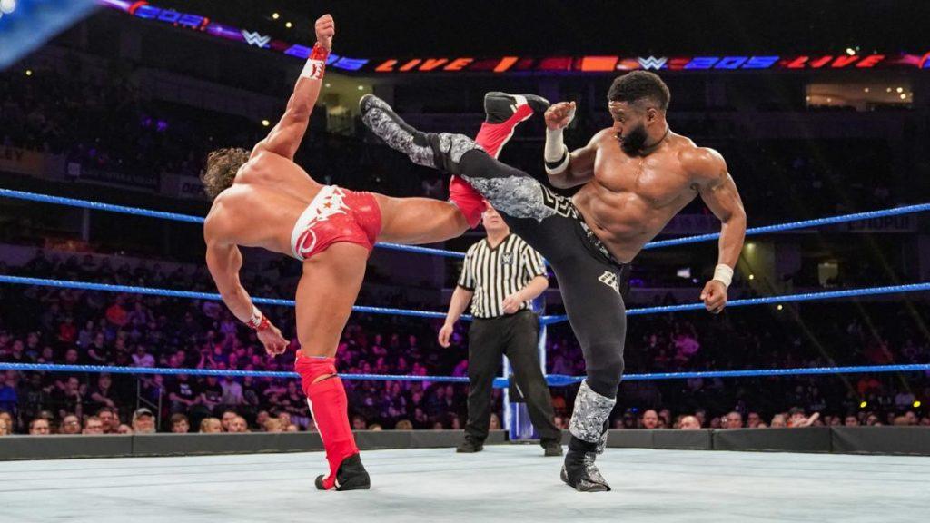 Cedric Alexander vs Tony Nese