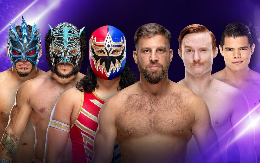 205 Clive's Purple Brand Review (03/26/19): Lucha House Party vs Gulak, Gallagher & Carillo