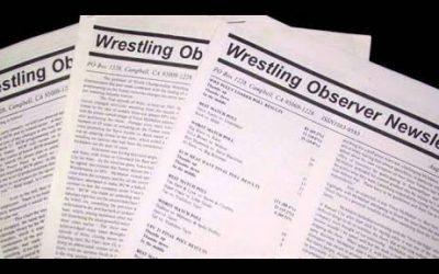 2018 Wrestling Observer Awards Factoid List
