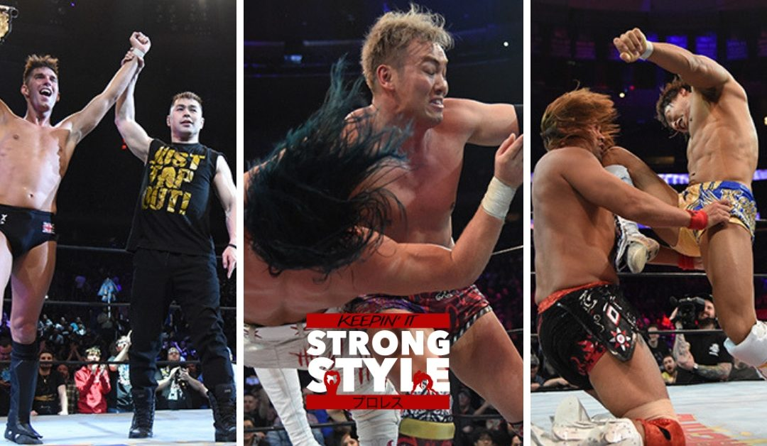 Keepin' It Strong Style – EP 71 – G1 Supercard Review