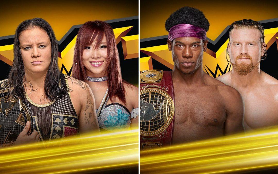 NXT: Then, Now, Forever – 3/15/19 – Shayna Baszler Vs Kairi Sane & Velveteen Dream Vs Buddy Murphy