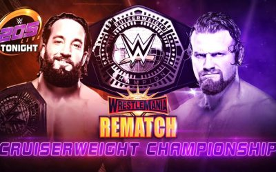 205 Clive's Purple Brand Review (4/09/19): WrestleMania Cruiserweight Championship Rematch – Tony Nese vs Buddy Murphy