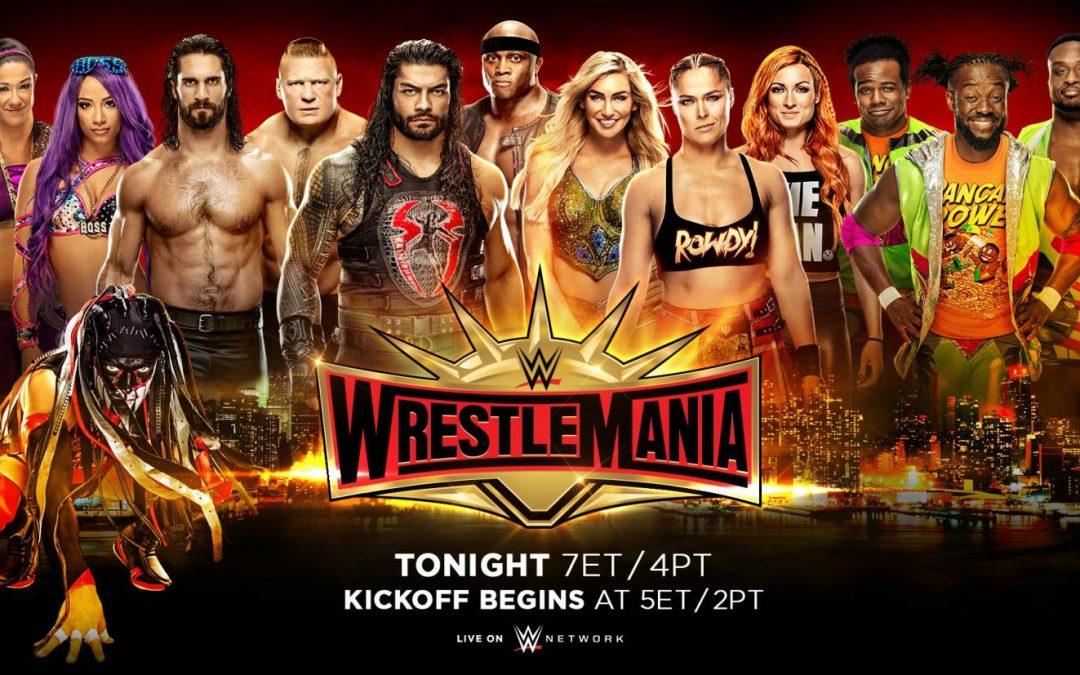 Ricky & Clive's WrestleMania 35 Go-Home Show