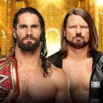 WWE Money in the Bank 2019 - Seth Rollins vs AJ Styles